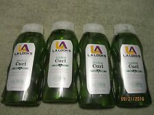 4x LA LOOKS GEL #8 NUTRA CURL 20oz. MEGA HOLD