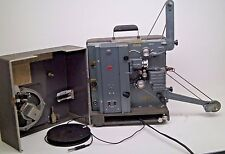 Vintage RCA 400 Series Film Projector With Speaker Case, Cables, And Arms! WO