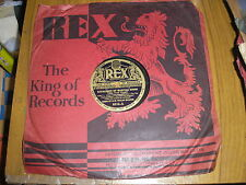 78RPM-BAND OF H.M. WELSH GUARDS-CAVALCADE OF MARTIAL SONGS PARTS 1/2 REX 8216