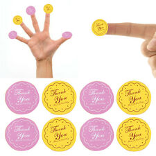 """120X/5Page Paper """"Thank You"""" Sticker Double Color Circular Round Sealing Pastes"""