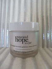 PHILOSOPHY RENEWED HOPE IN A JAR REFRESHING&REFINING MOISTURIZER SEE DETAILS #4G