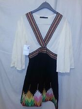 Dress Up Boutique Signature 8 Native American Aztec Pattern Dress sz Small NWT