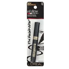 L'OREAL THE BLACKBUSTER INFALLIBLE LIQUID EYELINER NEW & SEALED # 700 BLACK