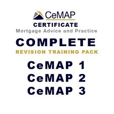 CeMAP 2014 1 2 3 Certificate Training Revision Guide & Practice Exams & Answers