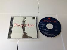 Peggy Lee : Peggy Lee Best of CD (1994) NEW
