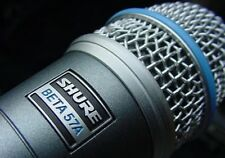 SHURE BETA 57A SUPERCARDIOID DYNAMIC INSTRUMENT MIC $5 INSTANT OFF BAND CHURCH