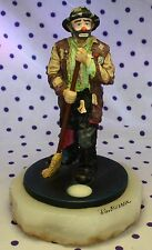 2002 Ron Lee Emmett Kelly Clown Figurine A CLEAN SWEEP Broom Sweeping EKJ103