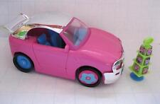 FASHION POLLY POCKET DOLL COOL DRIVE THRU QUICK CLICK STYLES CAR CONVERTIBLE SET