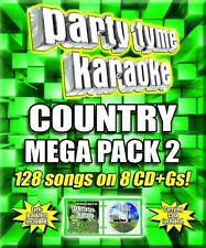 Various Artists, Syb - Party Tyme Karaoke: Country Mega Pack 2 / Various [New CD