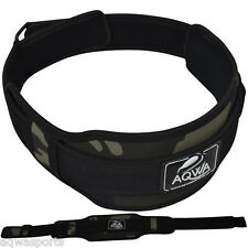 """Weight Lifting Belt Gym Power Training Belts 5"""" Back Support Lumber Pain Fitness"""