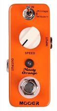 NEW Mooer Ninety Orange Analog Phaser Guitar Pedal True Bypass Similiar to MXR