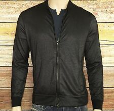 John Varvatos Star USA LUXE Full Zip Front Jacket in Black Size XL was $198.00