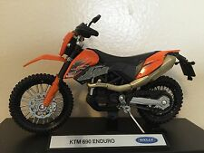 KTM 690 Enduro Motorcycle 1/18 690Enduro 690cc cc Dirt Bike Motocross Welly