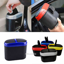 New Mini Travel Car Dustbin Trash Rubbish Bin Can Garbage Dust Box Case Holder