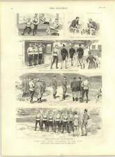 1887 China Squadron Singing Russians China Rifle Practice Posiett
