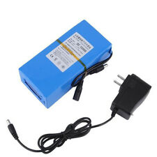 BATTERIE RECHARGEABLE 12V Li-ion 20000mAh + CHARGEUR BATTERY ACCU LITHIUM
