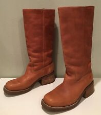 ROCKET DOG CLASSIC TALL BOOTS LEATHER CAMPUS SADDLE COWBOY FRYE INSPIRE SZ 7
