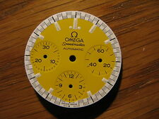 Omega Speedmaster Schumacher Automatic Reduced (Ref No. 3510.12) NOS Yellow Dial