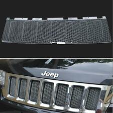 Stainless Front Grille Bug 3D Mesh Cover Grill Insert For Jeep Grand Cherokee
