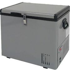 12 Volt Portable 43 Qt. Chest Fridge & Freezer, Outdoor RV Camp 12V Boat Cooler