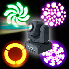Stage Lighting 25W DMX512 RGBW LED Moving Head Light DJ Club Disco Party US Plug