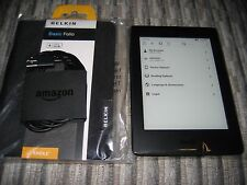 *Ads Free* Kindle Paperwhite 4GB WiFi, 300 ppi, Latest Model (7th Gen) + Cover