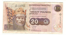 Offer old  Scotland  20 pounds  banknote  very nice !