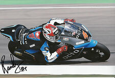 Randy Krummenacher Hand Signed Octo IodaRacing Suter 12x8 Photo 2014 Moto2.