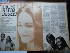 CLIPPING recorte olivia hussey dino martin jr