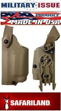 Safariland 6004 STX Tactical Holster LH Springfield 1911 FDE 6004-5621-552-MS15