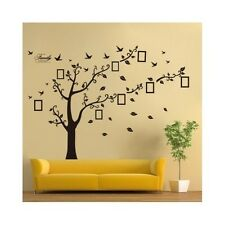 Wall Sticker Family Tree Photo Picture Frame Removable Decal Room Home Art Decor