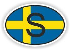Schweden Aufkleber Autoaufkleber Motorrad Nationalitätenkennzeichen Flagge