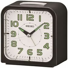 Seiko Wecker Alarm clock with White Dial & Bell Alarm - Lumibrite