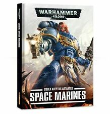 Warhammer 40K Hardcover Space Marines 7th Edition Codex New/Sealed