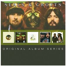 SEALS & CROFTS - ORIGINAL ALBUM SERIES 5 CD NEU