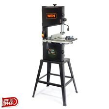 SALE WEN 3962 3.5 Amp 10 inch 2-Speed Band Saw w/ Stand & Worklight Stationary