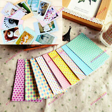 40PCS Polaroid FujiFilm Instax Film Skins Stickers Scrapbook Photo Decoration av