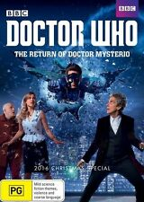 Doctor Who: The Return of Doctor Mysterio (2016 Christmas Special) NEW R4 DVD