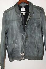 DIESEL Laurence Leather Jacket Size XL  MSRP $ 1,229