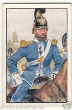 Guard Cavalry Royal Saxon Army 1870 Deutsche Heer Germany Uniform IMAGE CARD 30s