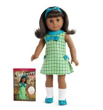 "**NEW** American Girl 'MELODY' 18"" Doll and Book - NIB"