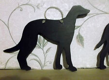 GREYHOUND DOG a SHAPE chalk board blackboard birthday Christmas pet puppy gift
