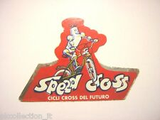 ADESIVO CICLISMO / Sticker Bike SPEED CROSS (cm 9 x 6) cycle bicicletta
