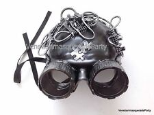 Steampunk Masquerade Ball Goggle half face Mask Doomsday Costume Halloween party