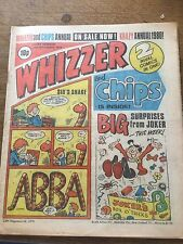 Vintage Whizzer & Chips Comic 17/11/79 UK Paper Comic 38 Year Old 1970s 70s