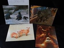 10 Vintage Te 00004000 aching Pictures National Dairy Council- Mammals Animals ~ 1970