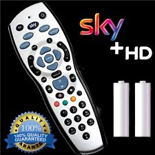 NEW SKY + PLUS HD BOX REMOTE CONTROL REV 9f REPLACEMENT + FREE BATTERIES 2017 UK