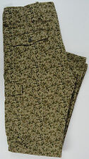 NWT Levis Men 32X32 Pants Camo Twill Cargo Slim Straight Leg Desert Harvest Gold