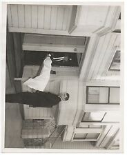Large 1960 San Francisco Crime Scene Photo of Body removed on Guerney