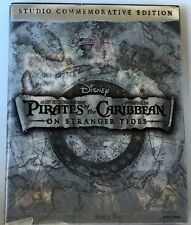 PIRATES OF THE CARIBBEAN ON STRANGERS TIDES BLU RAY DVD STUDIO COMMEMORATIVE ED